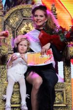 Валентина Чевтаева с дочкой- королева