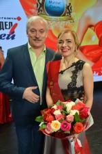 Андрей Думанский с  победительницей.....
